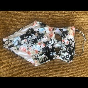 Cupshe floral one piece swimsuit